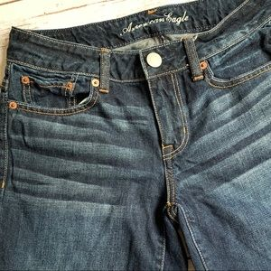 American Eagle Outfitters Shorts - American Eagle 0 Jean Cutoff Shorts No Stretch